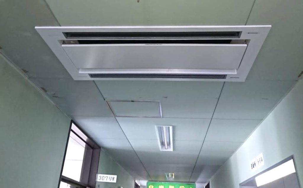 病院への業務用エアコン設置
